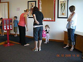 Mia's first dance lesson 005