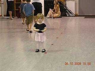 Mia's first dance lesson 014